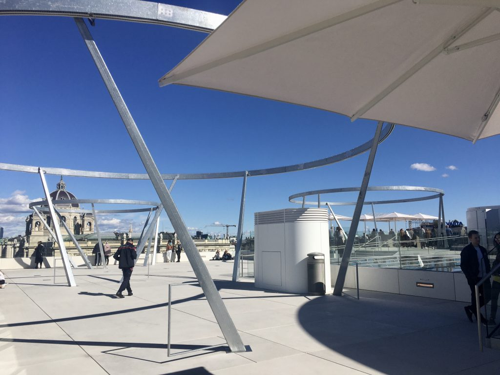 Dachterrasse Libelle Museumsquartier